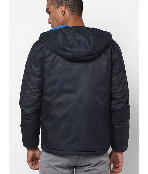 Zip-Front Hooded Jacket with Insert Pockets