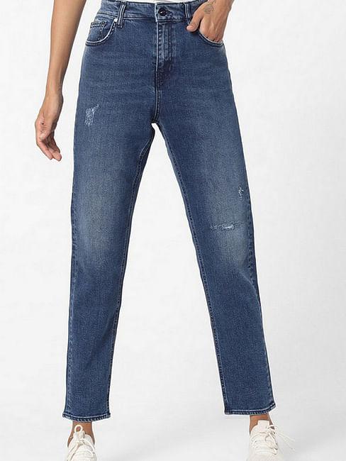 Women's mid wash Dyane jeans