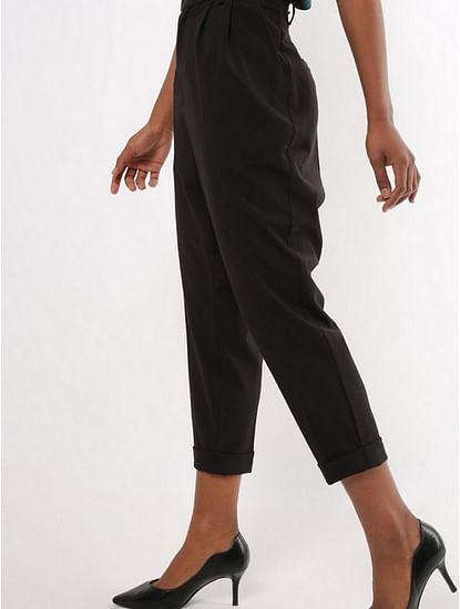 Women's regular fit mid rise Jenise trousers