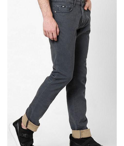 Men's Norton Carrot Fit Navy Blue Jeans