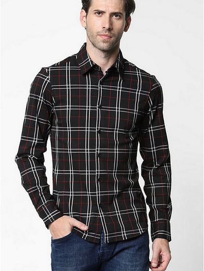 Sir Checked Slim Fit Shirt