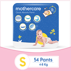 Mothercare Diaper Pants Extra Absorb Small- 54 pcs