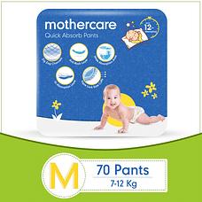 Mothercare Diaper Pants Extra Absorb Medium- 70 pcs
