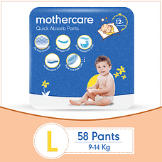 Mothercare Diaper Pants Extra Absorb Large- 58 pcs
