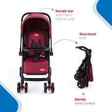 Nuluv Reversible Stroller - Candy