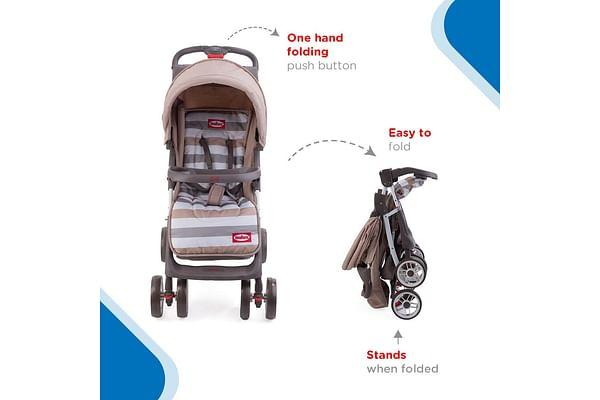 Nuluv Stroller - Natural Beige