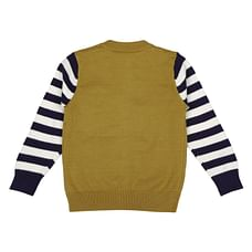 Boys Full sleeves Sweater - Yellow