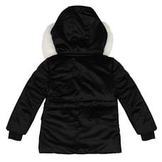 Girls Full sleeves Jacket - Black