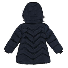 Girls Full sleeves Jacket - Navy