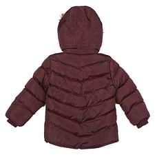 Boys Full sleeves Jacket - Burgundy