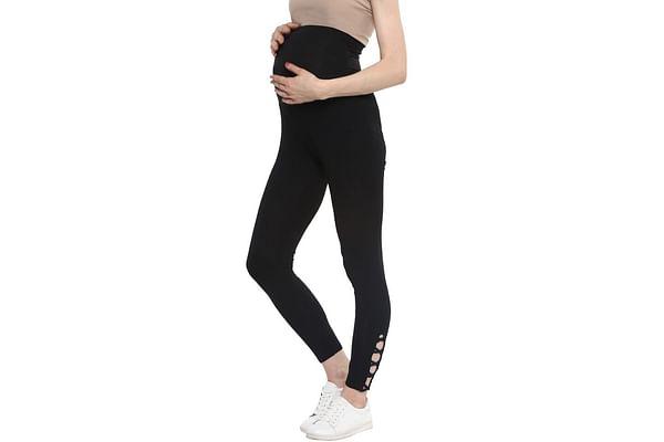 Women Maternity Leggings - Black