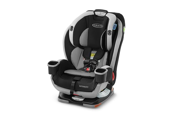 Graco Extend to Fit 3 in 1 Car Seat Black and White