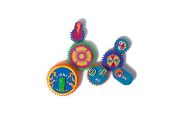 Hamleys Clever Cogs Fridge Magnet (Multicolour)