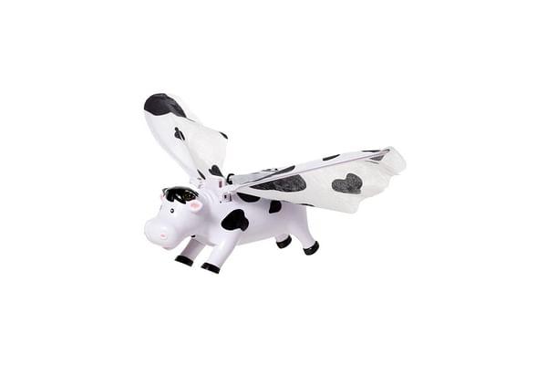 Hamleys Flying Cow (White/Black)
