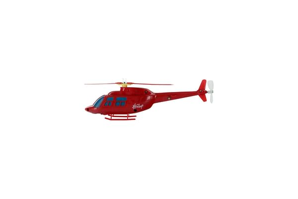 Hamleys Rota-Copter With Searchlight (Red)