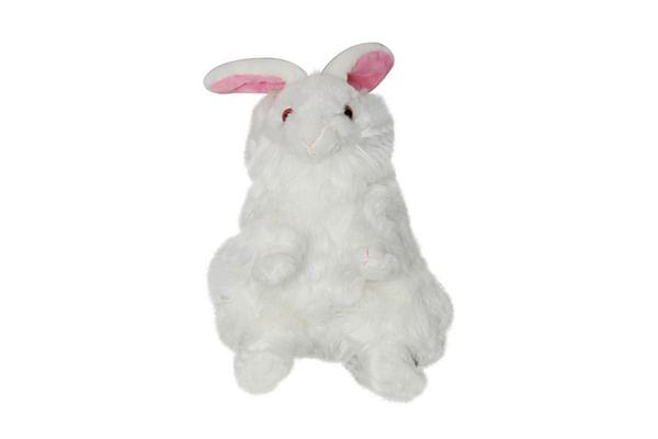 Soft Buddies Premium White Rabbit
