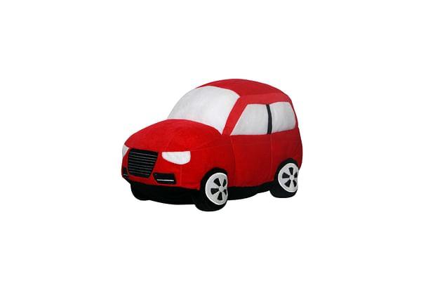 Soft Buddies Big Car Red