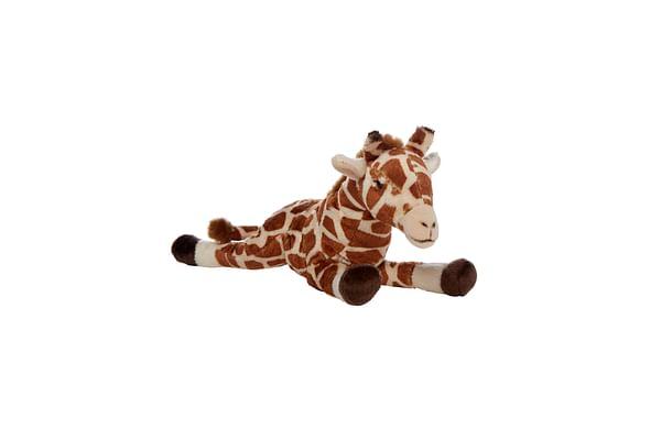 Hamleys Lying Giraffe Soft Toy (Brown)
