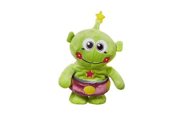 Hamleys Mands Alien Talk And Walk Soft Toy