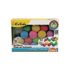 K'S Kids Popbo Blocks - Chain-An-Inchworm, Multi Color