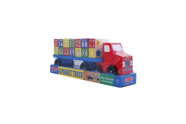 Melissa & Doug Alphabet Truck: Alphabet Truck