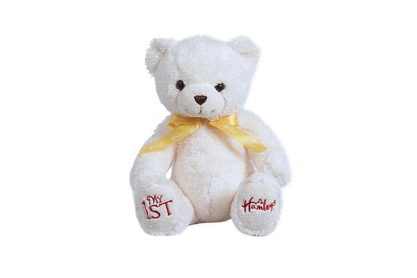 Hamleys My First Teddy Bear (White)