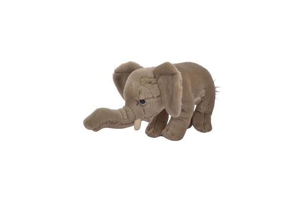 Hamleys Baby Elephant Soft Toy, Grey (4-Inch)
