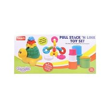 Giggles Pull Stack 'N Link Toy Set