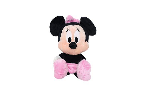 Disney Minnie Floppy Big Head, Pink/Black (20-Inch)