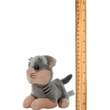 Woody O'Time Animals Family Cat Soft Toy (Gray)