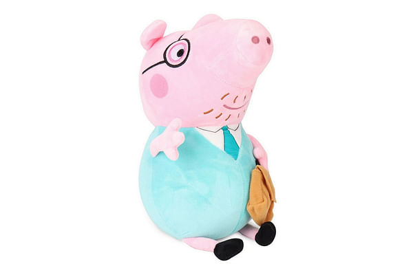 Peppa Daddy Pig Plush, Multi Color (30Cm)