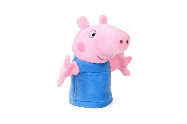 Peppa George Pig Puppet, Multi Color (26Cm)