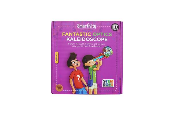 Smartivity Fantastic Optics Kaleidoscope For 6+ Years Boys And Girls, Stem, Learning, Educational And Construction Activity Toy Gift (Multi-Color)