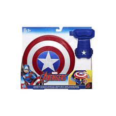 Marvel Avengers Captain America Magnetic Shield And Gauntlet, Multi Color