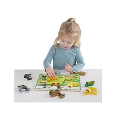 Melissa & Doug 3724 Pets Chunky Puzzle, Multi Color