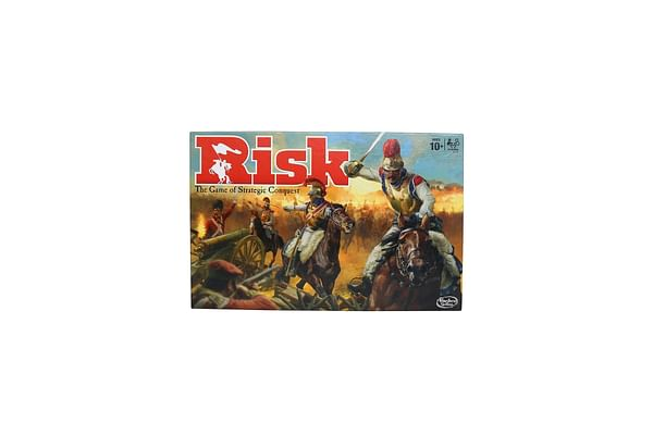 Risk Game - A Game Of Strategic Conquest, Game For Families And Kids Ages 10 And Up, 2 - 5 Players