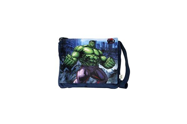 Disney Happiness Unisex Zipper Closure Hulk Sling Bag_Multi_Free Size