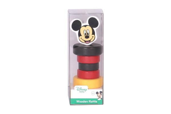 Disney Wooden  Rattle - Mickey