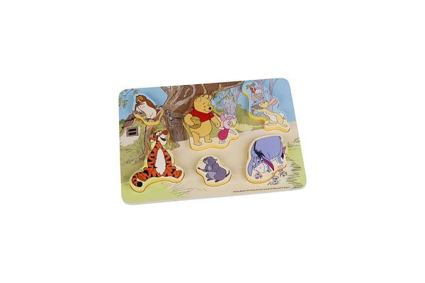 Disney Wooden Puzzle 7Pcs - Winnie