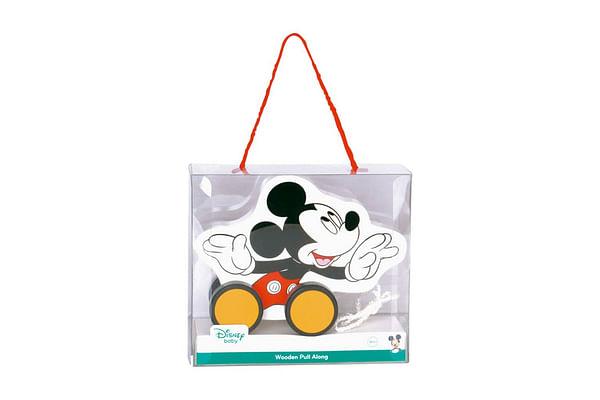 Disney Wooden Pull Along - Mickey
