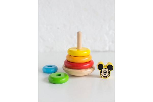 Disney Wooden Stacker 7Pcs Mickey