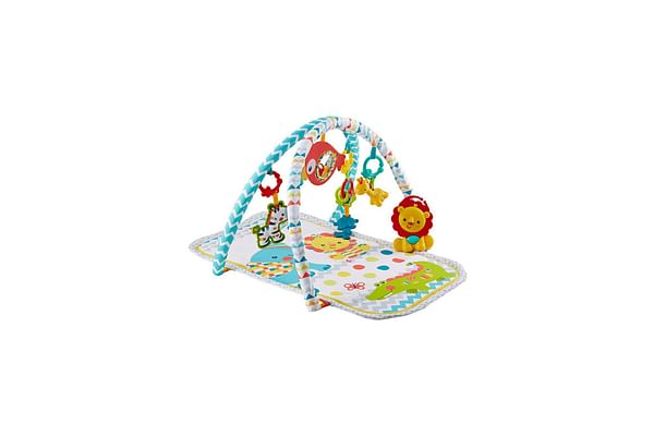 Fisher Price Colourful Carnival 3-In-1 Musical Activity Gym (Multi Color)