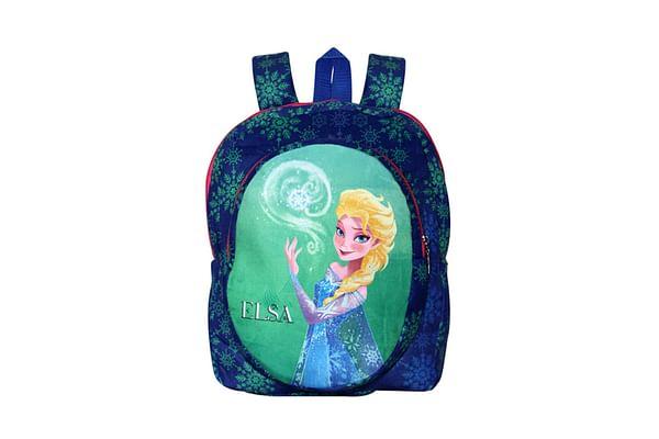 Disney Happiness Unisex Zipper Closure Frozen Elsa Backpack_Blue_Free Size