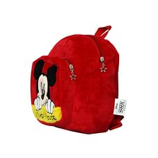 Disney Happiness Unisex Mickey Mouse Backpack_Red