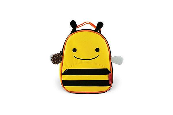 Skip Hop Zoo Insulated Waterproof Lunch Carry Bag -  Bee