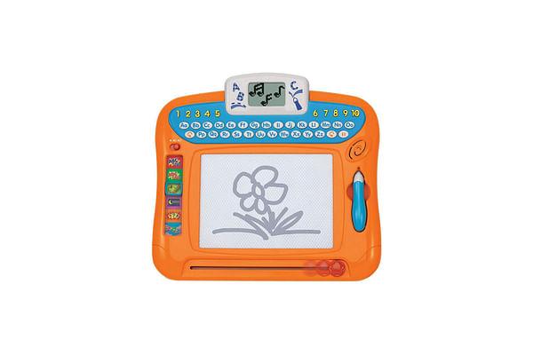 Winfun Write N Draw Learning Board (Orange)