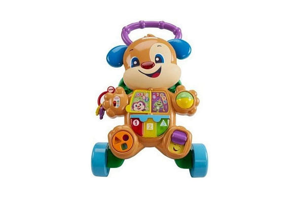 Fisher Price Laugh And Learn Smart Stages Learn With Puppy Walker, Multi Color
