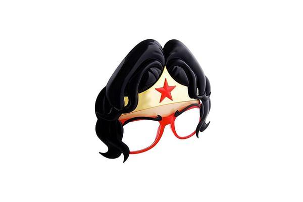 Sunstaches Wonder Woman Sunglasses Shades Novelty Character