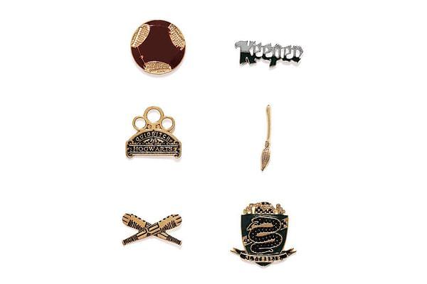 Harry Potter : Keepier House Pin Set