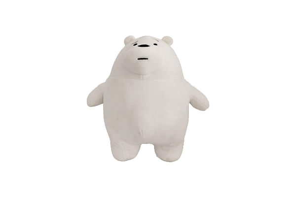 We Bare Bear Ice Bear Plush 30 Cm